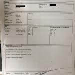 Referto paziente dopo applicazione Metodo Trabucco