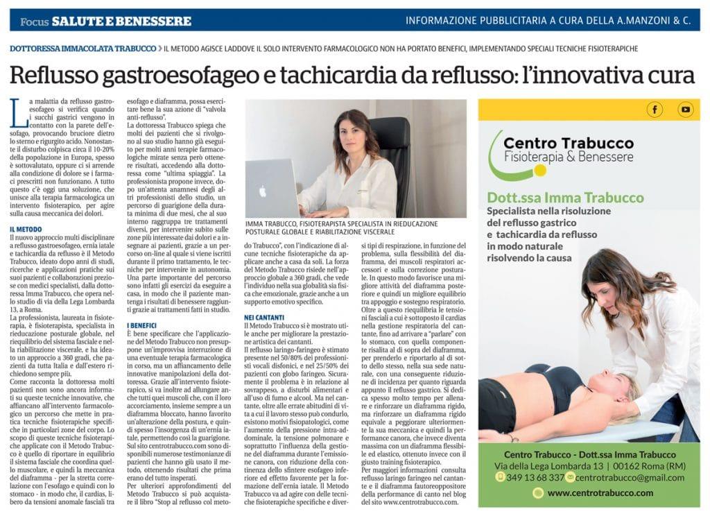 Articolo Repubblica Edizione Napoli